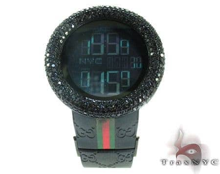 Black Diamond Bezel Gucci Watch Gucci