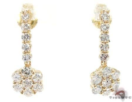 Dangling Flower Earrings 26942 Style