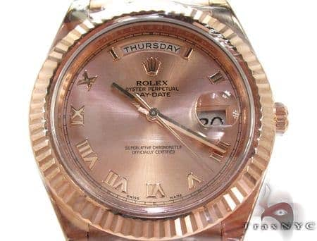 Rolex Day-Date President Rose Gold 218235