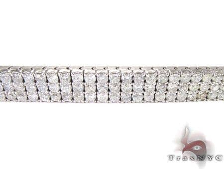 3 Row Paulie Bracelet Diamond