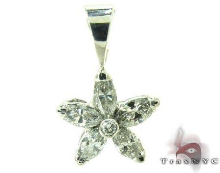 Small Star Diamond Pendant Stone