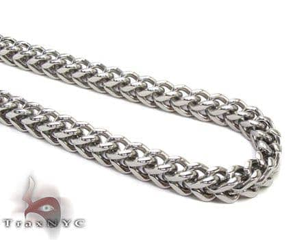 Stainless Steel Franco 24 Inches, 6mm, 47.4 Grams Stainless Steel