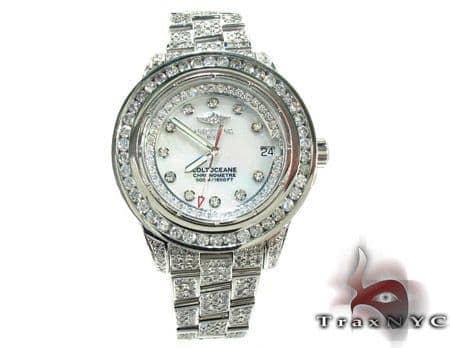 Breitling Colt Ocean Full Diamond Watch Breitling