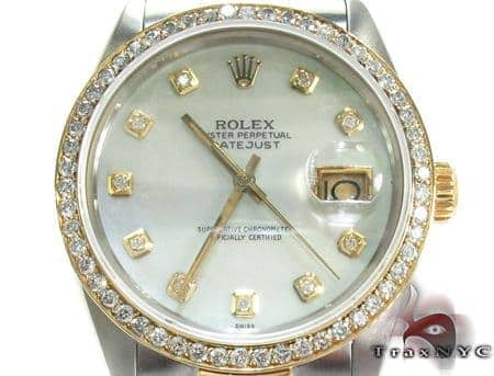 Rolex Datejust Steel and Yellow Gold 16243