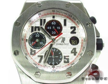 Audemars Piguet Royal Oak Offshore Steel Chronograph Watch 28187 Audemars Piguet Watches