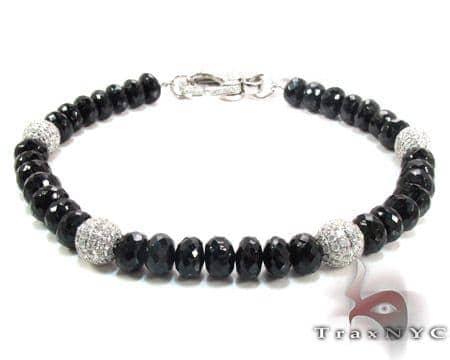 Black and White Diamond Bracelet 28322 Diamond
