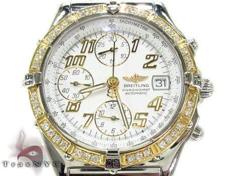 Breitling Diamond Bezel Watch Breitling