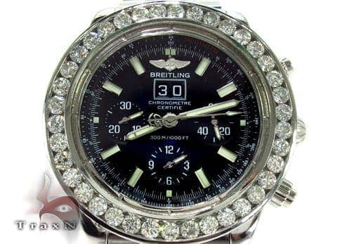 Breitling Blackbird Diamond Bezel Watch Breitling
