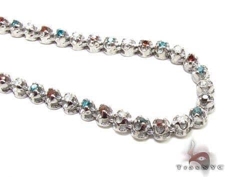 Mini Liberty Diamond Chain 36 Inches, 3.5mm, 45 Grams Diamond