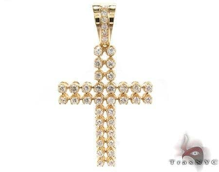 Toni Cross Crucifix 2 Diamond