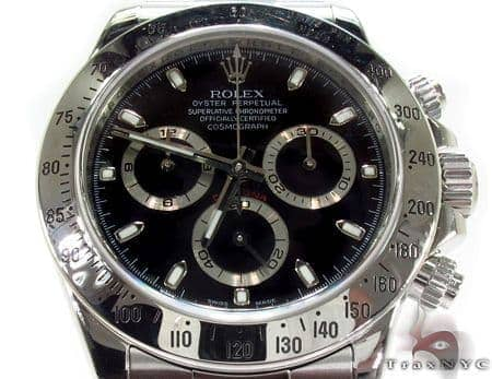 Pre-Owned Rolex Daytona Steel 116520