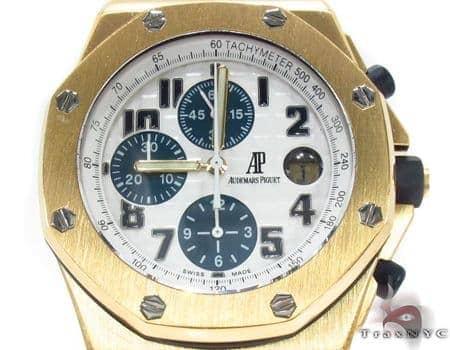 Audemars Piguet Royal Oak Offshore 18K Yellow Gold Watch 29024 Audemars Piguet Watches