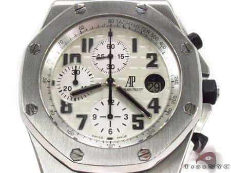 Audemars Piguet Royal Oak Offshore Stainless Steel Watch 29028 Audemars Piguet Watches