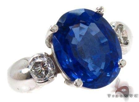 Oval Cut Tanzanite Diamond Ring Anniversary/Fashion
