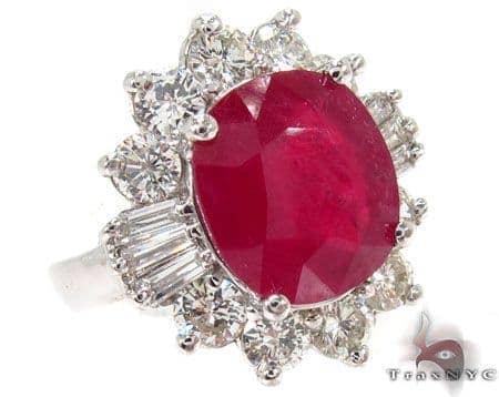 Raspberry Ruby Ring Anniversary/Fashion