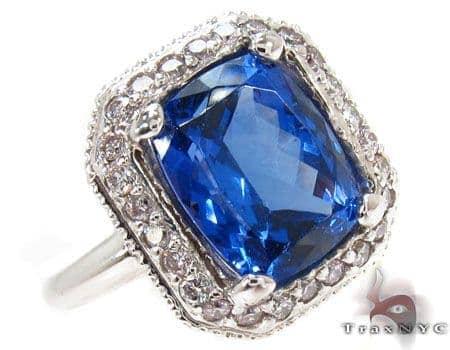 Tanzanite Timeholder Ring Anniversary/Fashion