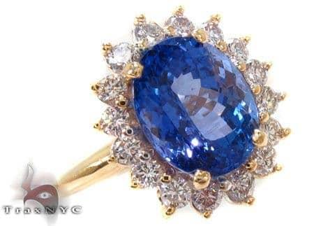 Dreamy Tanzanite Ring Anniversary/Fashion