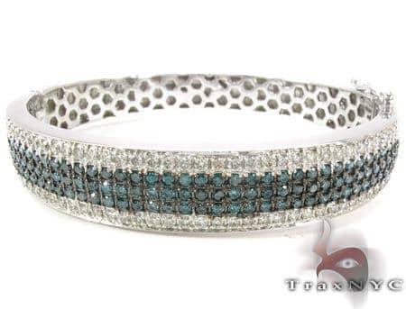 5 Row Icy Bangle Bracelet 30987 Diamond
