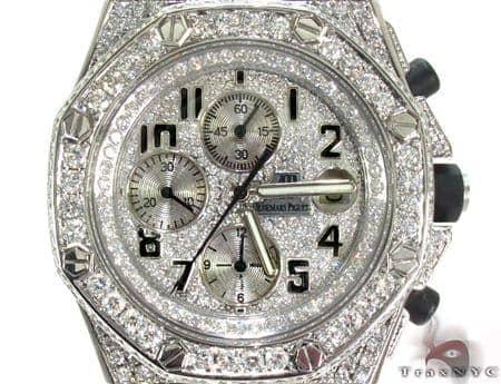 Diamond Dial Audemars Piguet Royal Oak Offshore Diamond Watch 31018 Audemars Piguet Watches