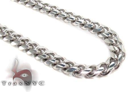 14K Gold Miami Chain 22 Inches 6mm 60.2Grams Gold