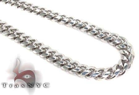 14K Gold Miami Chain 22 Inches 6mm 46.9Grams Gold