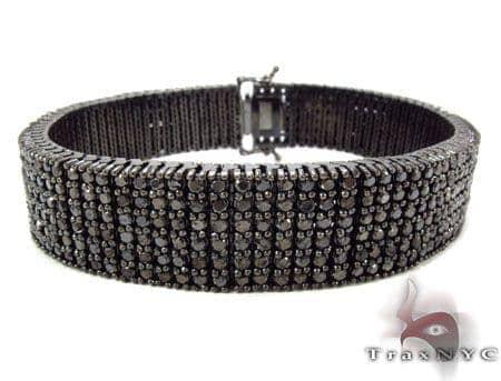 Prong Black Diamond Bracelet 31293 Diamond