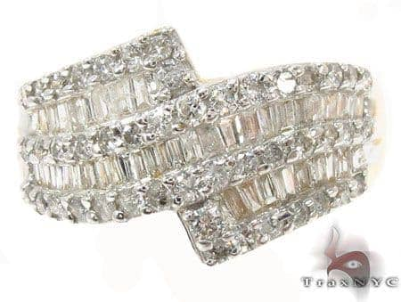 Ladies Diamond Anniversary Ring Wedding