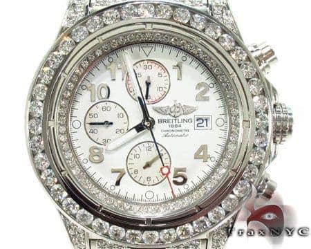 Breitling Super Avenger Fully Diamond Watch 2 31490 Breitling