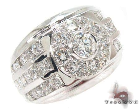 Bezel Diamond Ring 31564 Stone