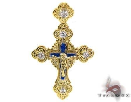 The Czar Cross Crucifix Diamond