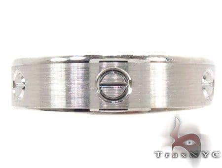 14K White Gold Fancy Ring 31762 Style
