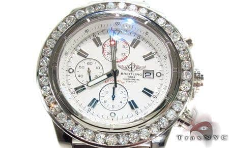 Breitling Super Avenger Diamond Watch 32035 Breitling