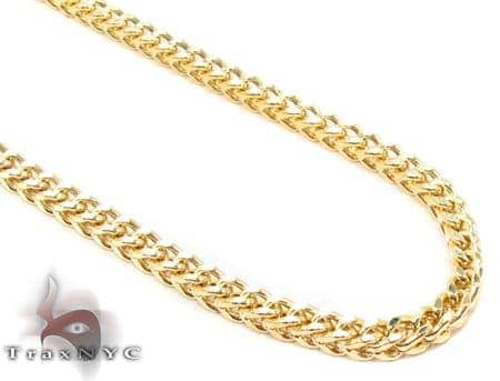 14K Yellow Gold Franco Chain 28 Inches 3mm 18.2 Grams Gold