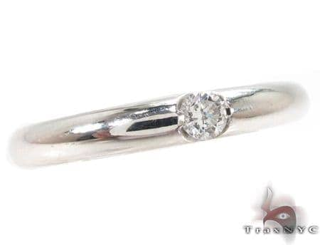 Bezel Diamond Ring 32205 Wedding