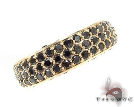 Prong Black Diamond Ring 32208 Stone