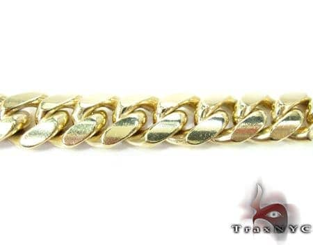 Miami Cuban Link Bracelet 7.5 Inches 14mm 94.4 Grams Gold