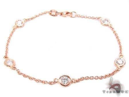 Bezel Diamond Bracelet 32719 Diamond
