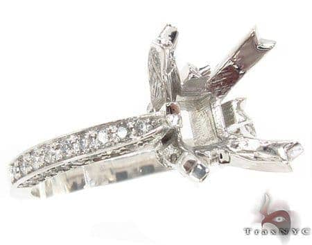 Custom Semi Mount Diamond Ring 32726 Engagement
