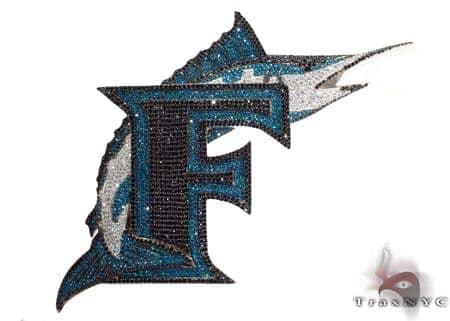 Florida Marlin Custom Pendant Metal