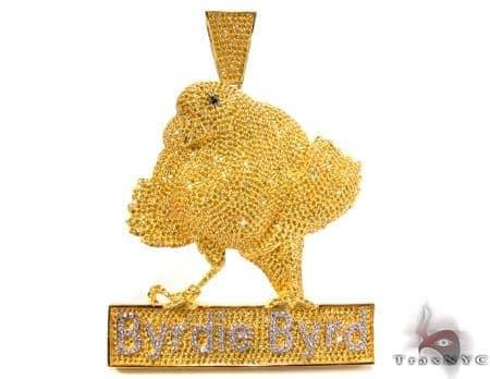 Byrdie Byrd Custom Pendant Metal
