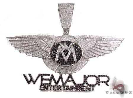 Wing Custom Pendant Metal