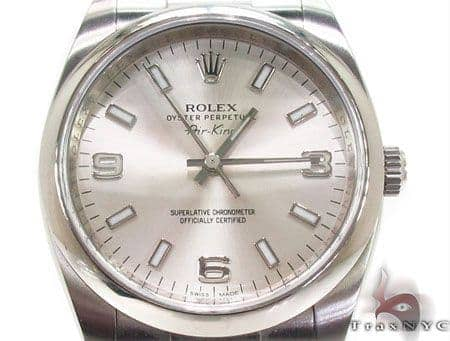 Rolex Air-King Steel Watch 114200