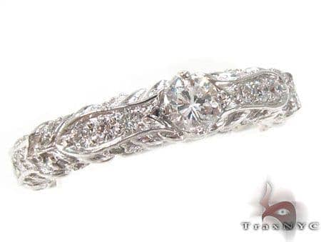 Prong Diamond Ring 32832 Wedding