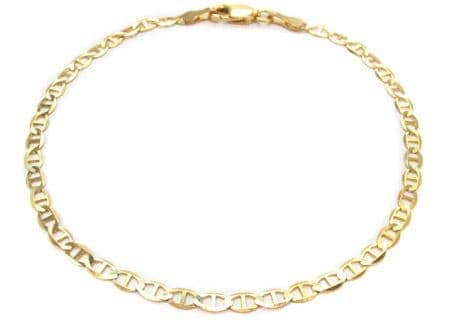 10K Gold AnchorBracelet 33210 Gold