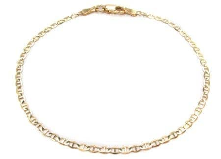 10K Gold Anchor Bracelet 33213 Gold