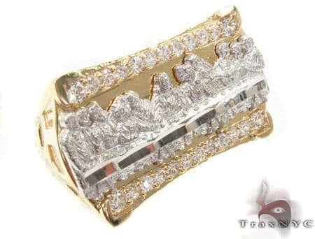 CZ 10K Gold Ring 33215 Metal