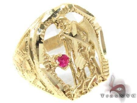 CZ 10K Gold Ring 33260 Metal