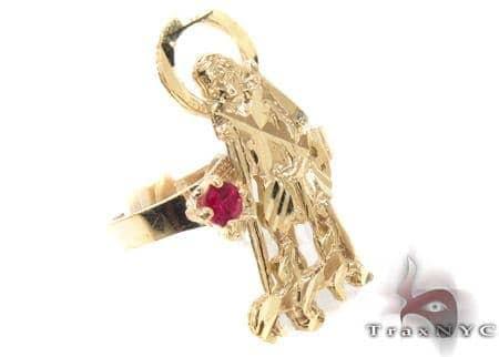 CZ 10K Gold Ring 33279 Metal