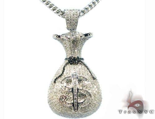 Money Bag Pendant Metal