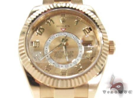 Rolex Sky Dweller Yellow Gold 326938